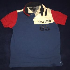 Tommy Hilfiger Polo Kids Size Small (8/10)